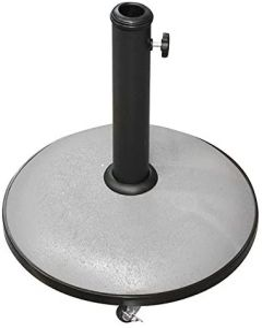 25 Kgs. concrete base on wheels taupe