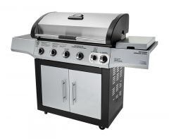GAS BBQ 5 BURNER + 1 SIDE BURNER 810-6630-S