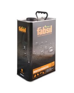 Fabsil fabric waterproofer + UV - 5 Litres Can