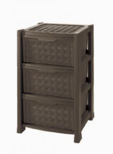 TONTARELLI STORAGE CABINET 3 DRAWER