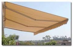 6 METER SEMI CASSETTE MANUAL AWNING