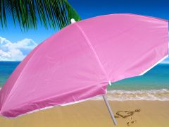 beach umbrella 1.8m Pink