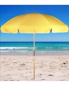 beach umbrella 1.8m Yellow