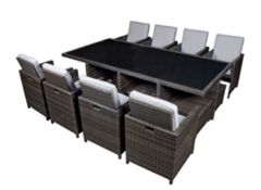 Captiva rattan cube set CR244