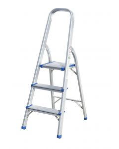 3 Step Aluminum Ladder
