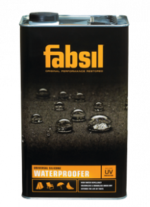 Fabsil fabric waterproofer + UV - 1 Litre Can