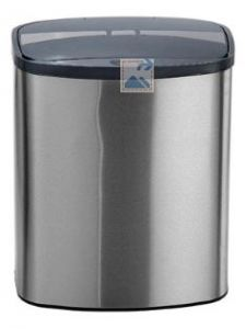 Automatic Brushed Stainless Steel bin (8lt)