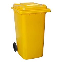 WHEELIE BIN 240Lt Yellow