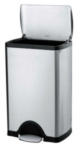 Brushed Stainless Steel Pedal bin (25lt)