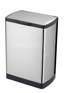 Automatic Brushed Stainless Steel bin (30lt)