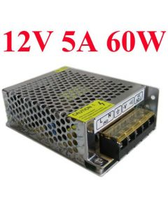 Switching power supply 12VDC 60W 5A