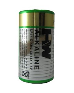 Alkaline Batteries C Size 2pcs Pack
