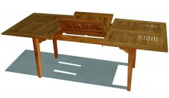MDW40- EXTENDABLE DINING TABLE MENORCA