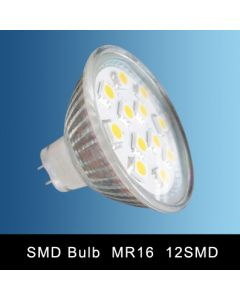 MR16 12SMD LED SPOT LAMP WARM WHITE