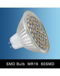 MR16 60SMD LED SPOT LAMP DAY LIGHT