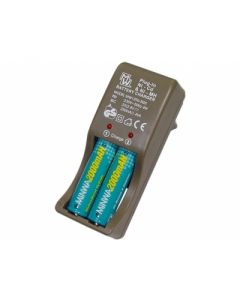 Plug-in Battery charger for AA/AAA Ni-Cd or Ni-Mh batteries