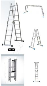 ALUMINIUM MULTI PURPOSE LADDER 4x4 STEPS