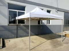 H/D 3x3 meter Pop-up Gazebo 40mm White