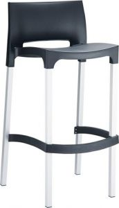 Rick Stool Black Resol