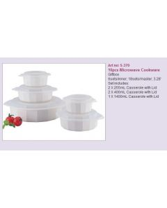 Microwave cookware 10pcs S-370